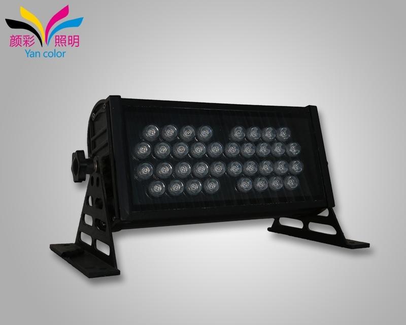 它不仅仅可以适用在很多大型的建筑物墙体表面的照明效果上,