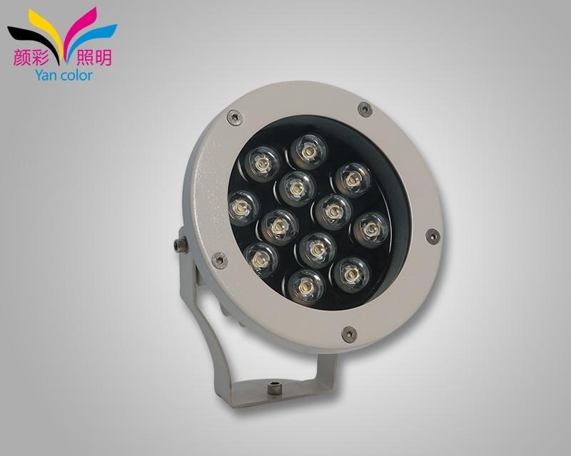 洗墙灯灯具本身不会有眩光或过亮干扰