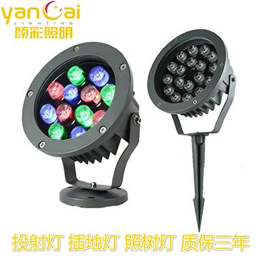 洗墙灯制造商使用的LED光源