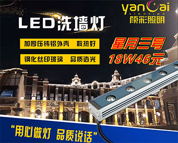 LED洗墙灯的实际IP保护级别的唯一方法是什么?