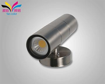 LED洗墙灯的条形散热器更易于使用