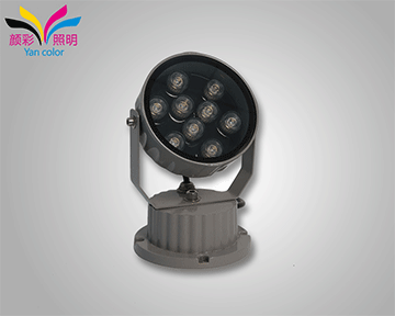 洗墙灯厂家的镜片近视度数越小,光源直射的壁越窄